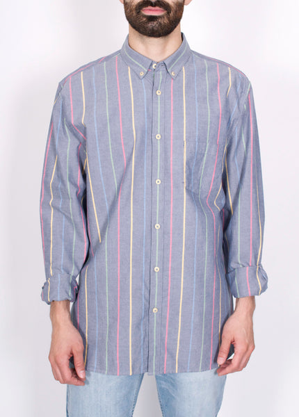 Skiffy Striped Oxford Shirt