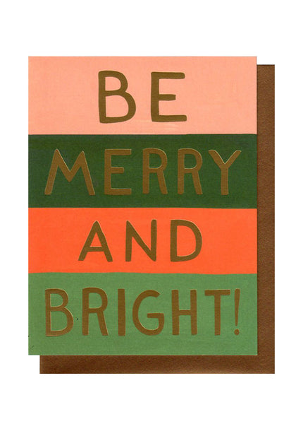 BE MERRY AND BRIGHT BOX SET