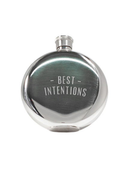BEST INTENTIONS FLASK 5 OZ