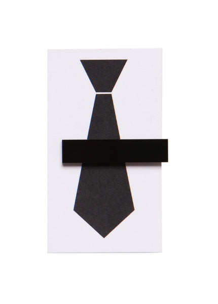 ACRYLIC TIE CLIP - RECTANGLE