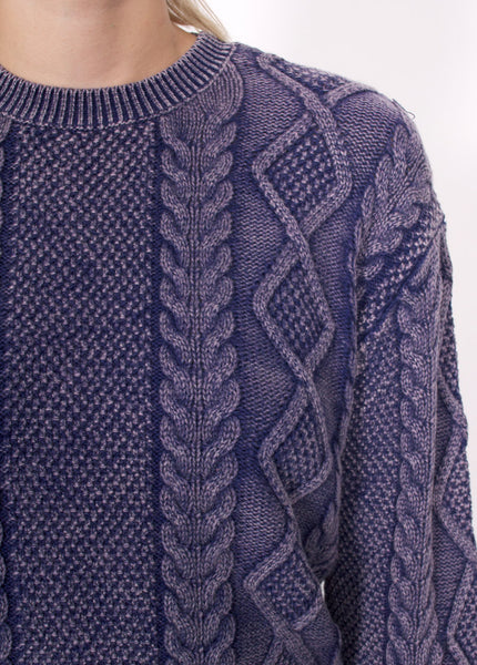 Cable Enzyme Boyfriend Sweater