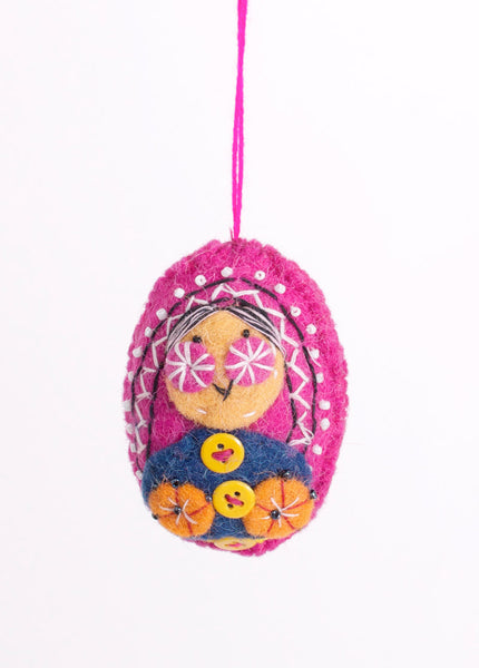 Babushka Ornament