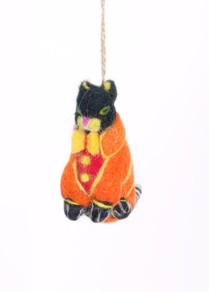 Kittens in Sweaters Ornament