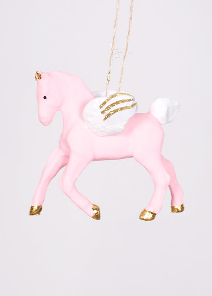 Spirited Pegasus Ornament