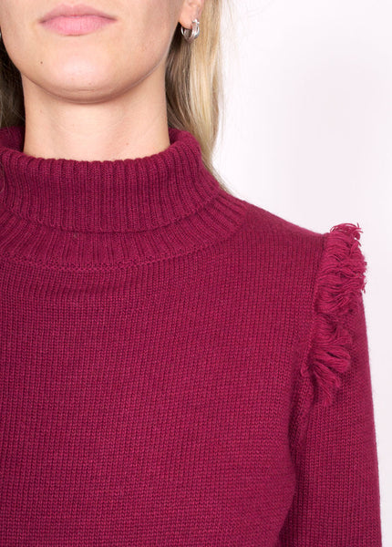 Greer Fringe Sweater