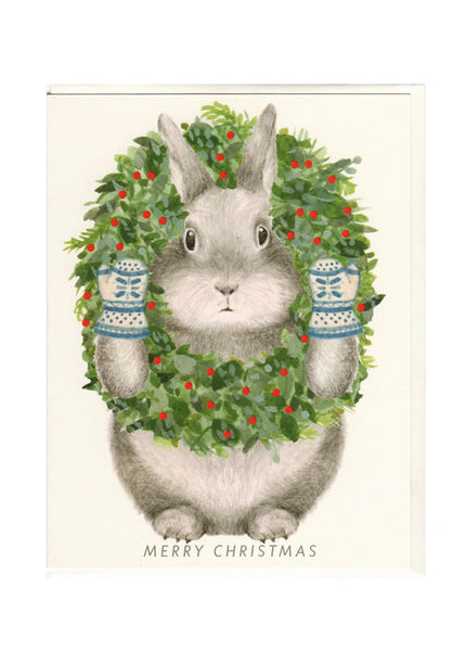Bunny Wreath Card Box Set