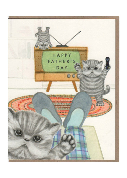 Kittens Father's Day Card