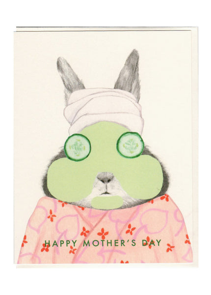 Bunny Mask Mother's Day Card