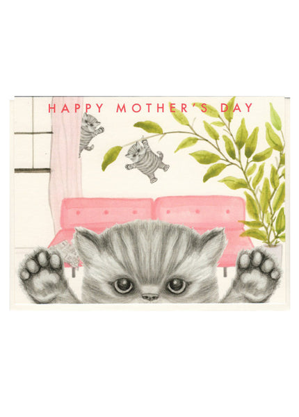 Kittens Mother's Day Card