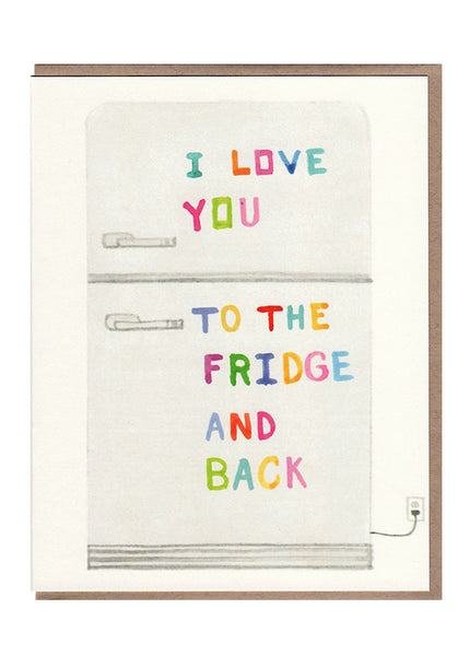 SaFridge and Back Card