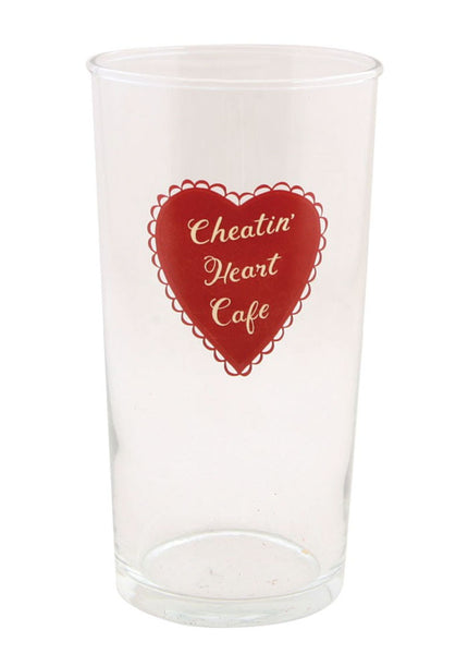 CHEATIN' HEART GLASS