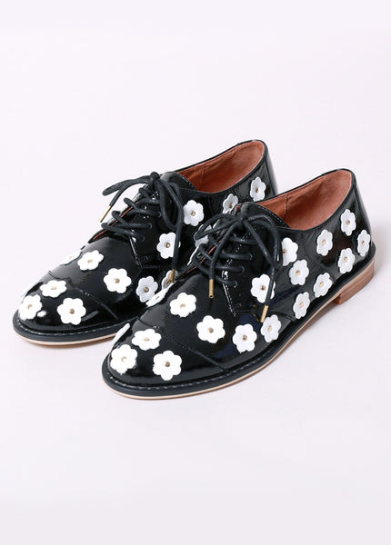 Daisy Saddle Shoe