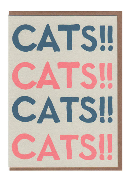 Cats!! Card