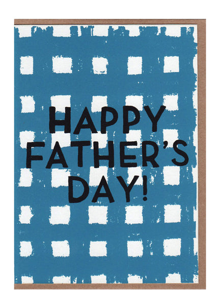 Father's Day Gingham Card