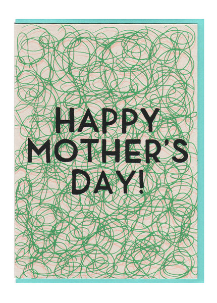 Mother's Day Squiggles Card