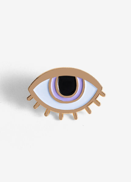 Eyeball Pin Postcard