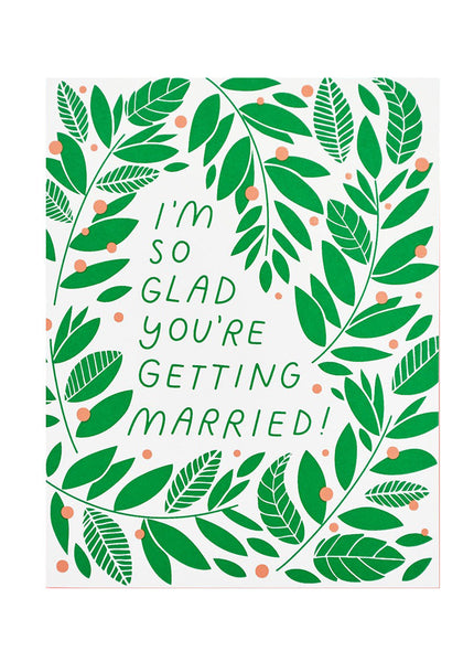 Vines Wedding Card