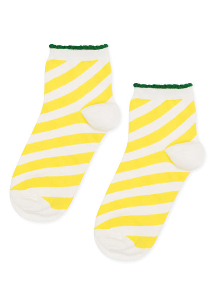 Candy Stripe Anklet Socks