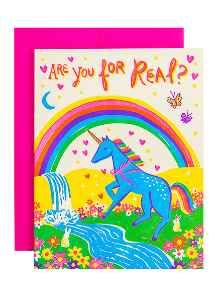 Unicorn Love Card