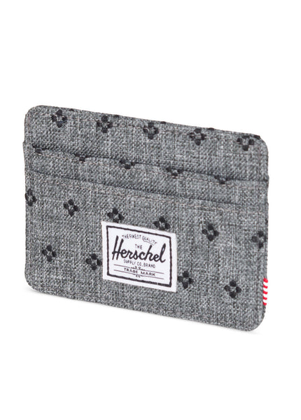 Charlie Embroidered Card Holder