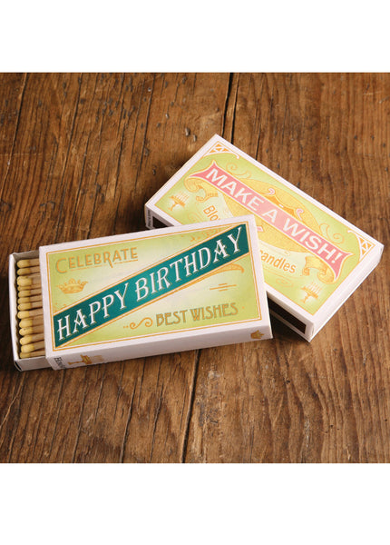 MATCHES - HAPPY BIRTHDAY