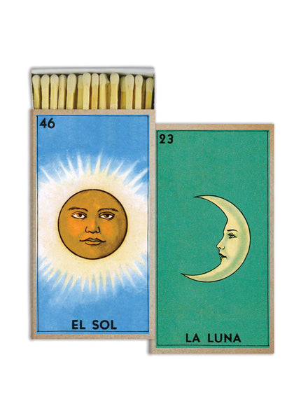Matches - El Sol and La Luna