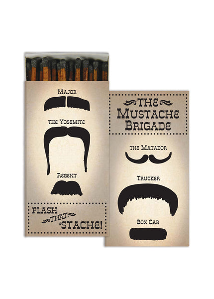 MATCHES - THE MUSTACHE BRIGADE