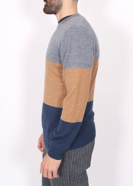 Division Colorblock Sweater