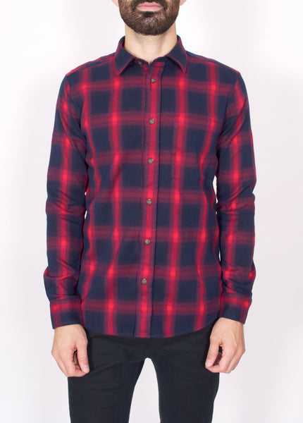 Spider Check Overshirt