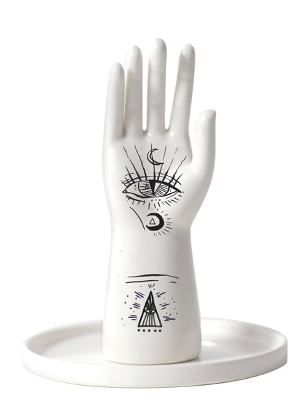 Ancient Mystics Hand Ring Holder