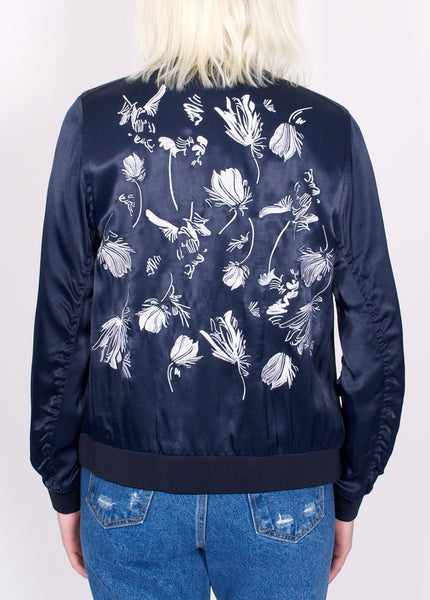 Panter Embroidered Bomber Jacket