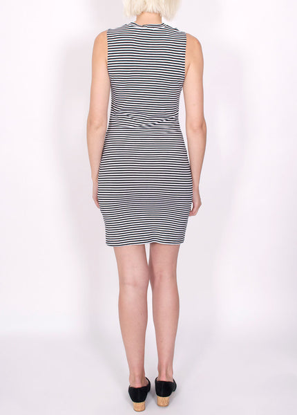 Striped Slice Dress