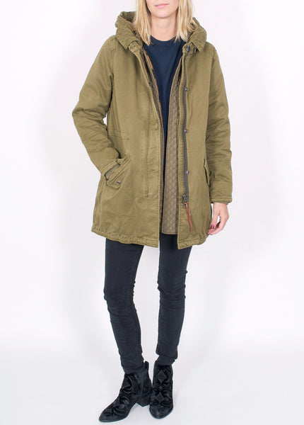 Army Parka With Vest