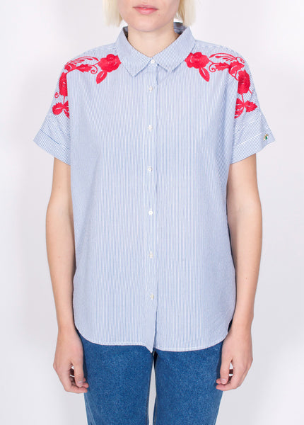 Boxy Embroidered Top