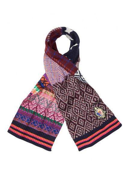 Jacquard Mixed Pattern Scarf