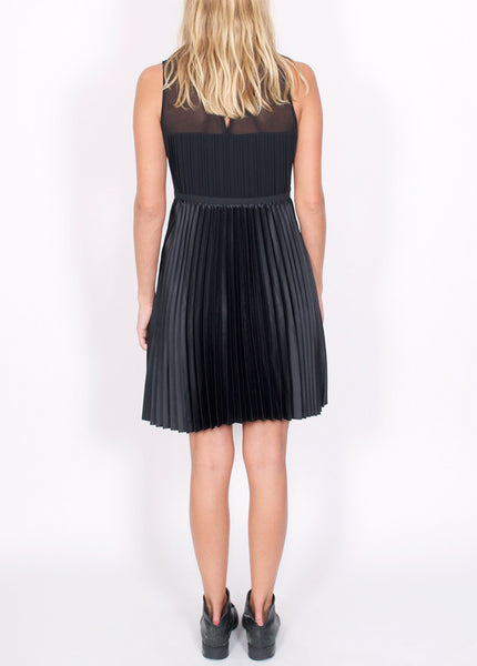 Pleated Party Dress