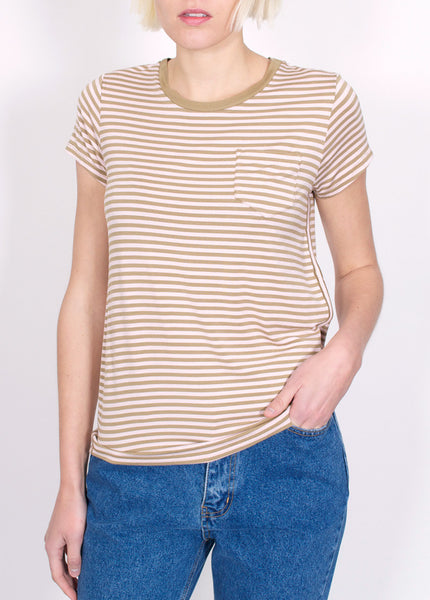 Slim Striped Tee