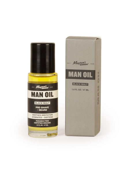Man Oil - Black Malt