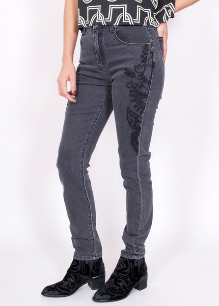 New Folk Embroidered Jeans
