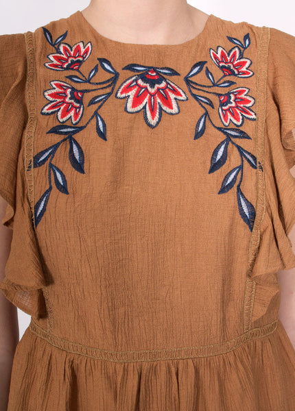 Folk Embroidery Top