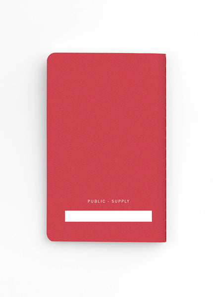 Ruled Notebook - Set of 3