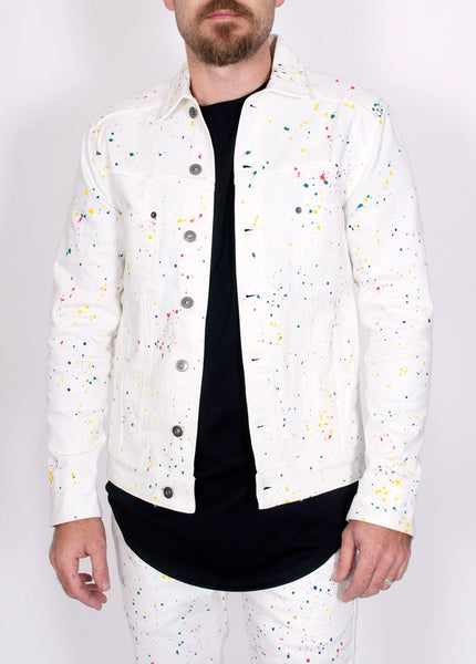 Koby Paint Splatter Jacket