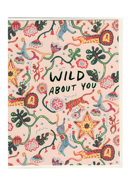 Wild Animals Card