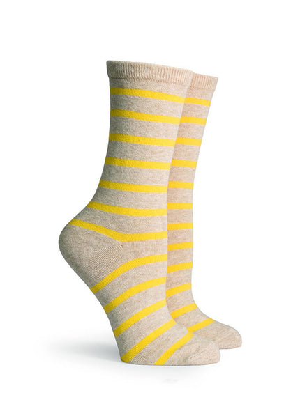 Nora Striped Crew Socks