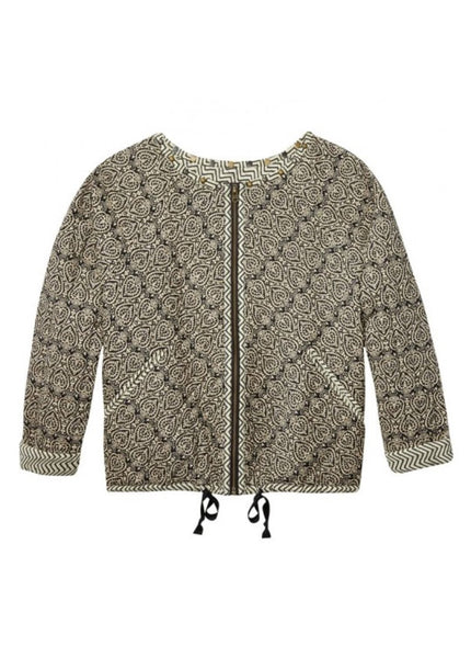Quilted Paisley Jacket