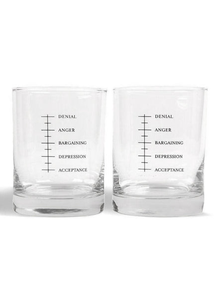 Good Grief Whiskey Glass Set
