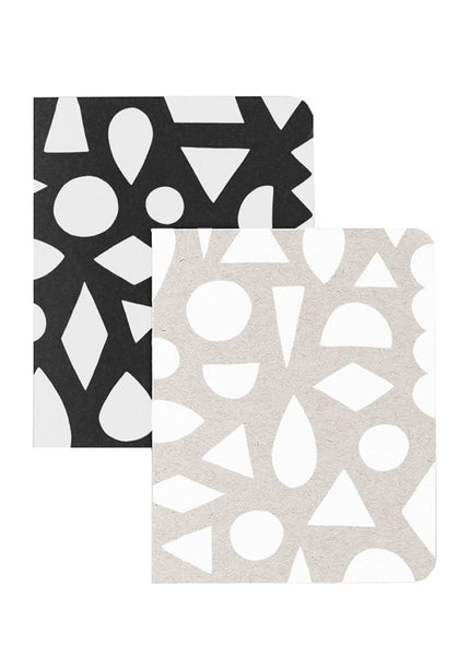 Modern Shapes Notebook Set