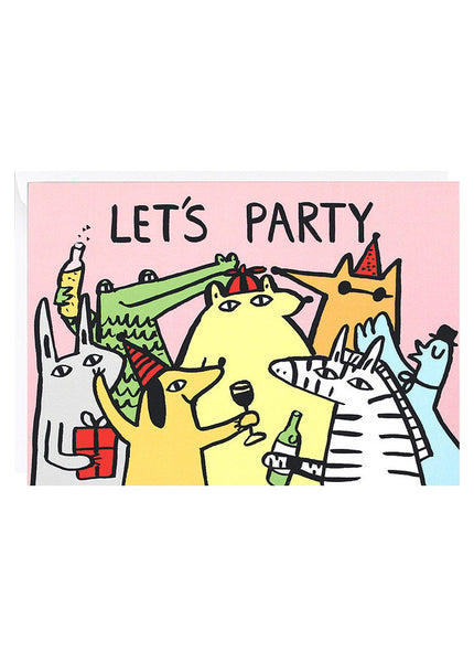 Let's Party Card