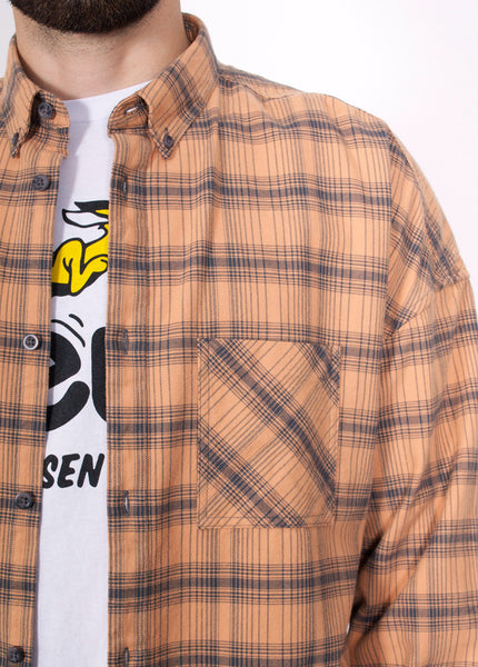 Rugger Flannel Plaid Shirt