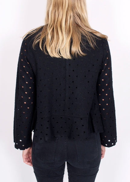 Laser Polka Dot Top